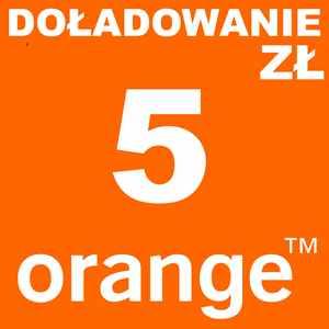doładowanie 5 zł orange