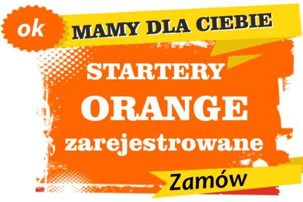 Sprzedam zarejestrowane karty sim orange